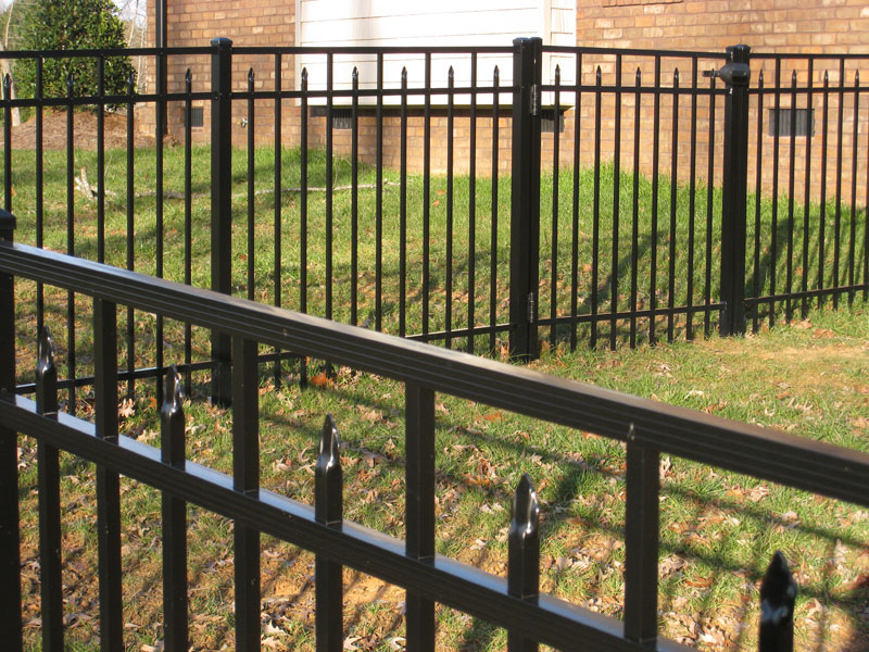 Ornamental Aluminum Fencing Summerfield Advance Nc