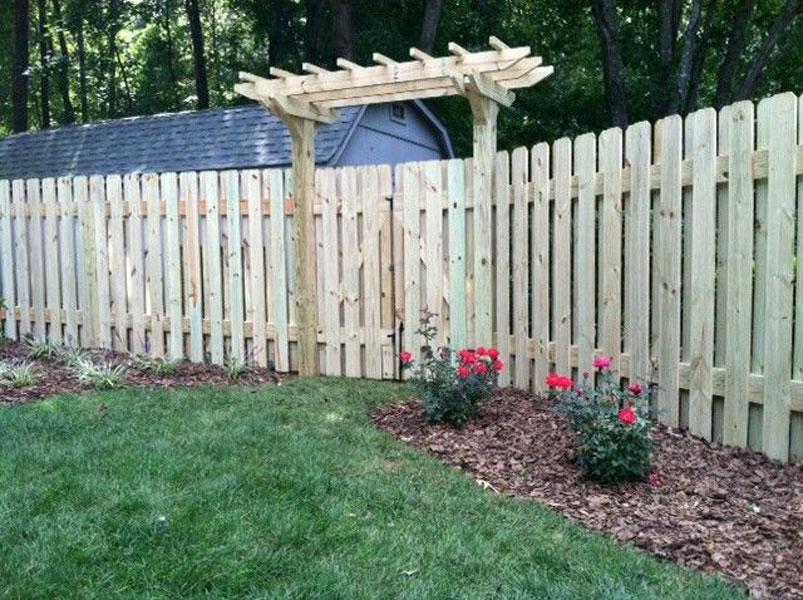 Wood Fencing Winston Salem Clemmons Nc Piedmont Fence
