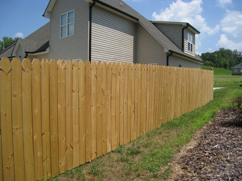 Wood Fencing Winston Salem Clemmons Nc Piedmont Fence