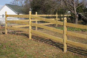 Wood Fence Clemmons NC